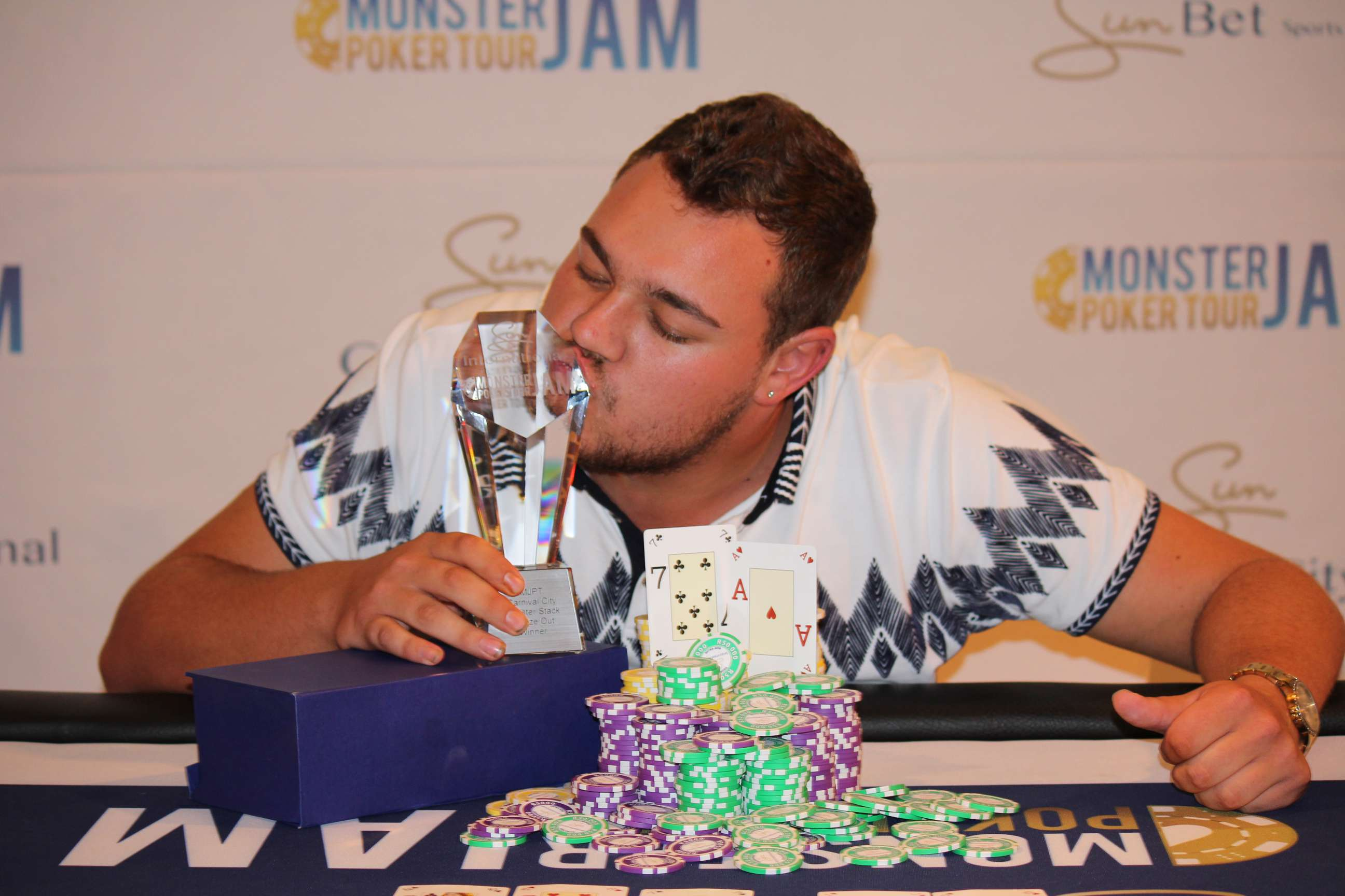 LINGENFELDER TAKES THE MONSTER STACK FREEZE DOWN TOWN – CCTY 2018
