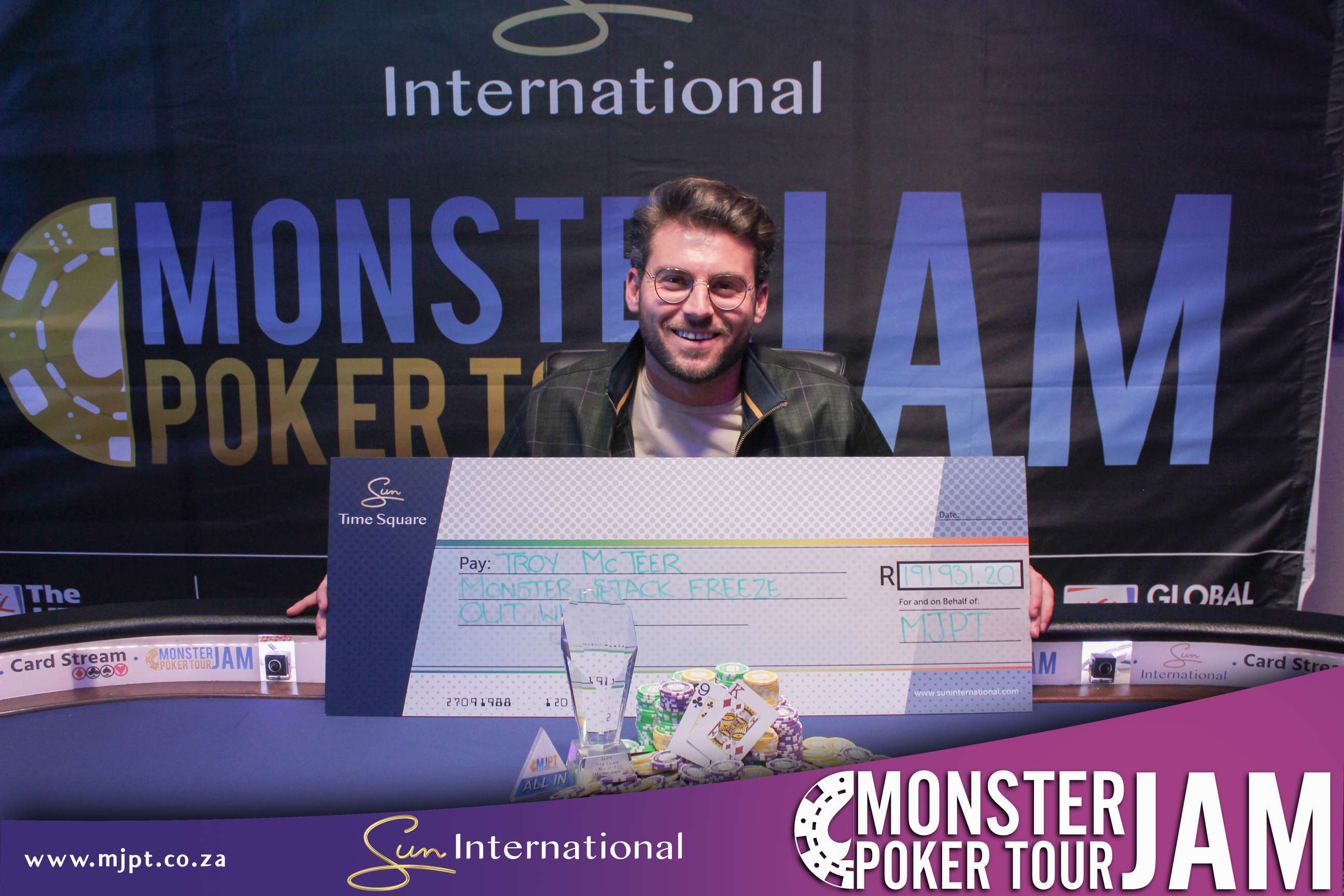 Monster Stack Freezeout Champion – Time Square 2018