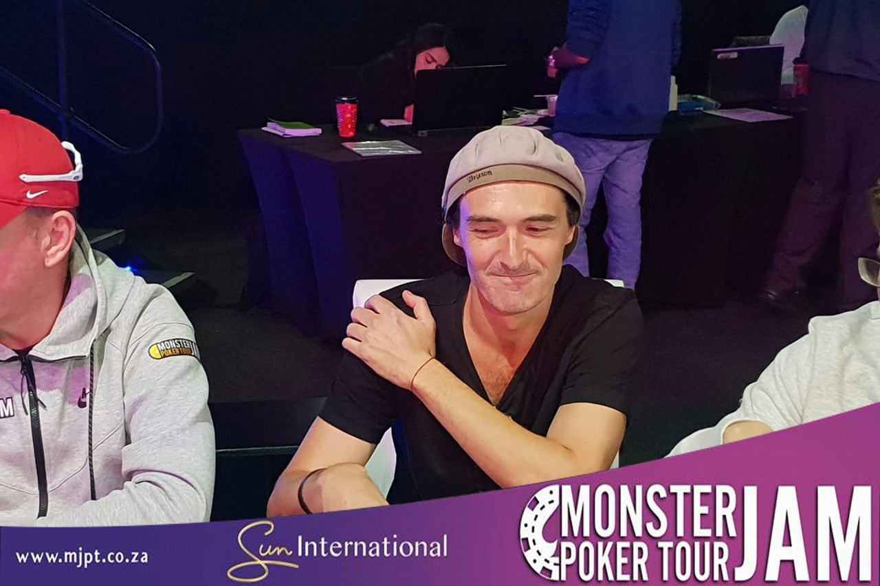 """I won a satellite that costed me about R500"" – Our runner up for The Monster Stack Freeze, Jared Glass."